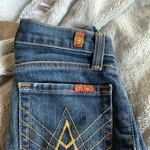 Kids 7 for all mankind jeans